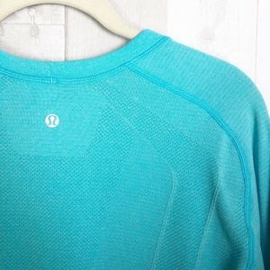 lululemon athletica Shirts - [Lululemon] Blue Metal Vent Tech Short Sleeve Tee